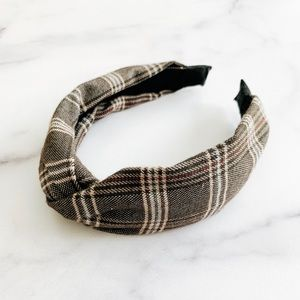 Accessories - Twist knot headband grey